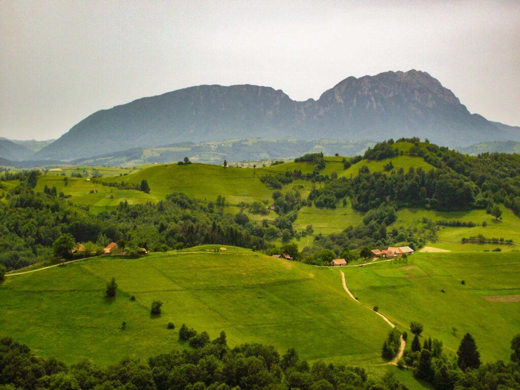 Holbav village