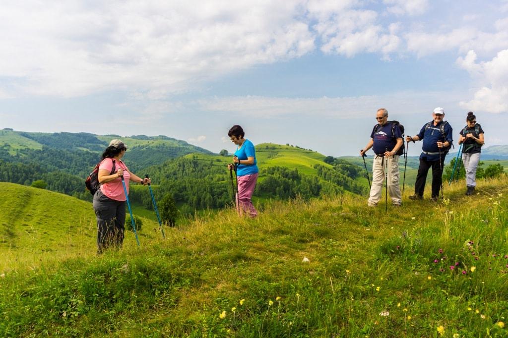 Hiking in Trascau Mountains