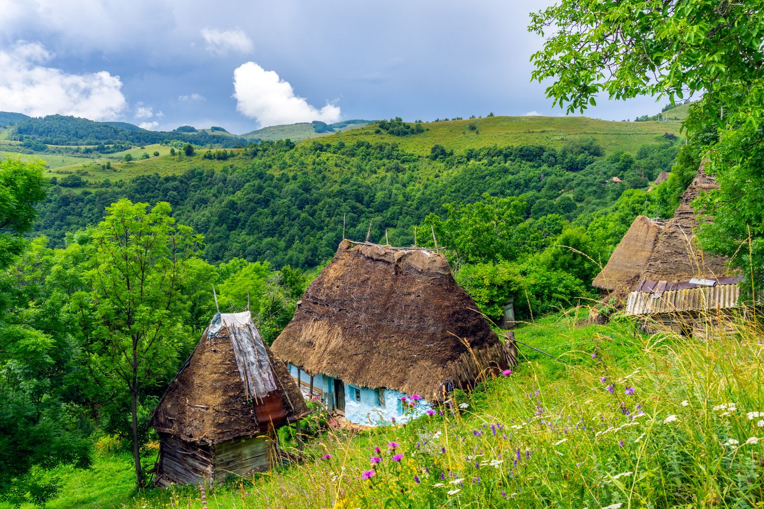 Countryside in Romania