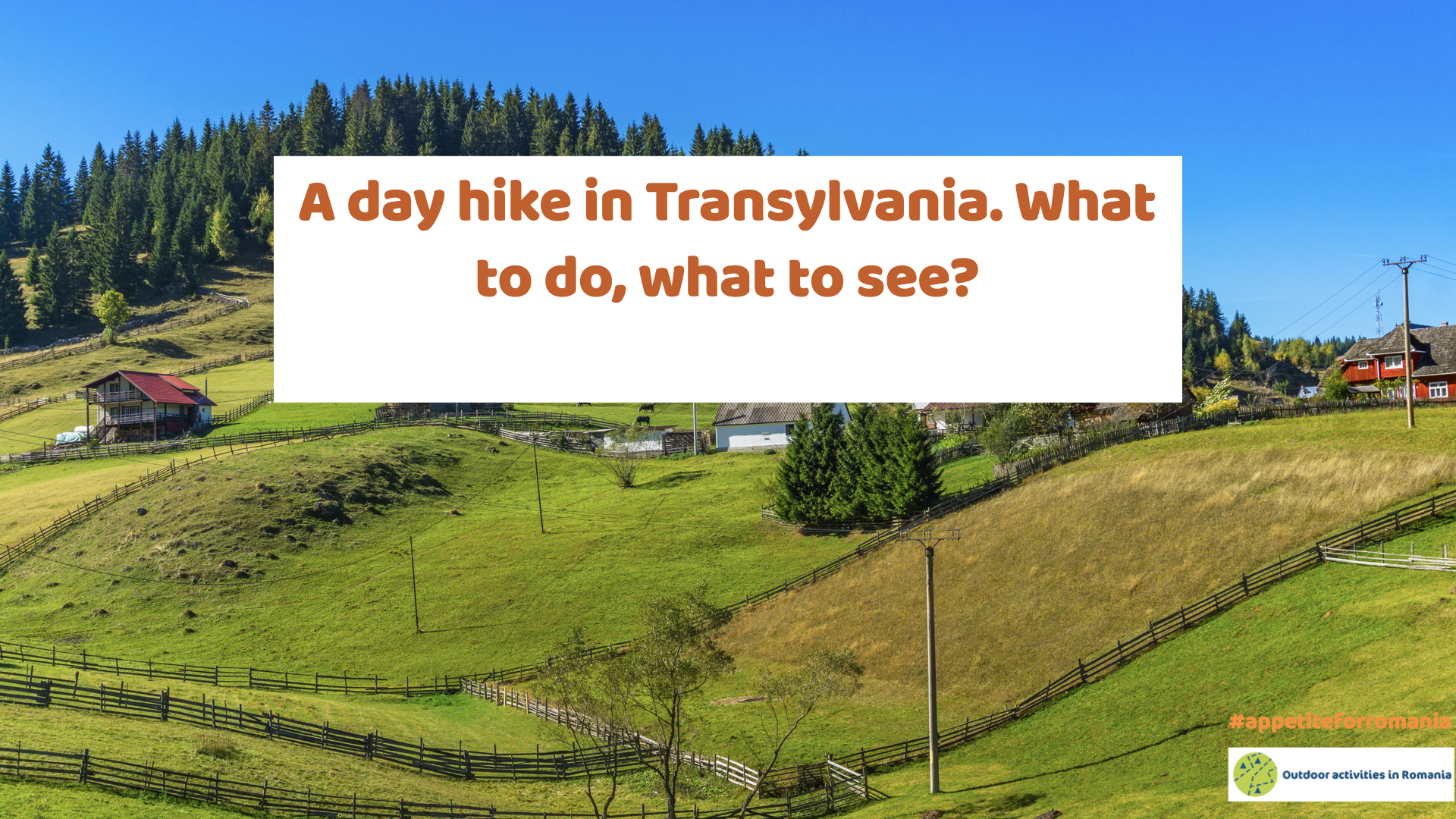 Hiking in Transylvania